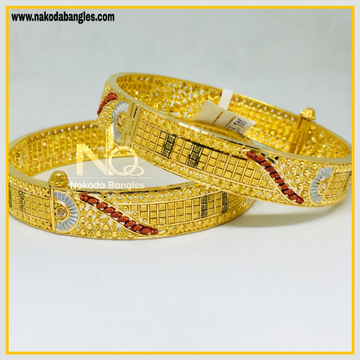 916 Gold Calcutty Bangles NB - 443