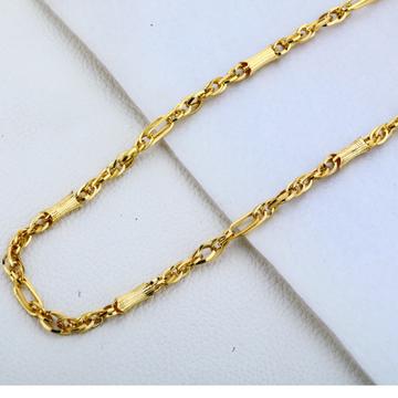 22ct  gold Classic Choco Chain MCH189