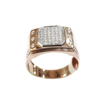 18k rose gold ring mga - rgr005