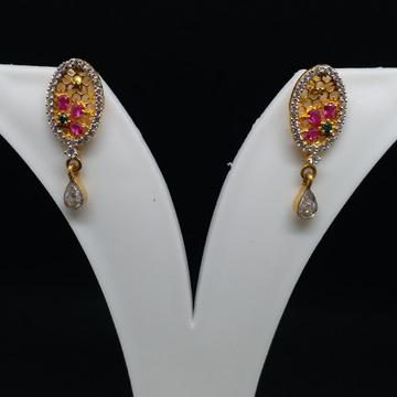 22 kt 916 gold earrings by Zaverat