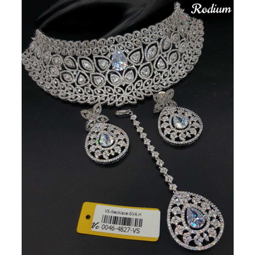 Bridal Diamond Necklace#991
