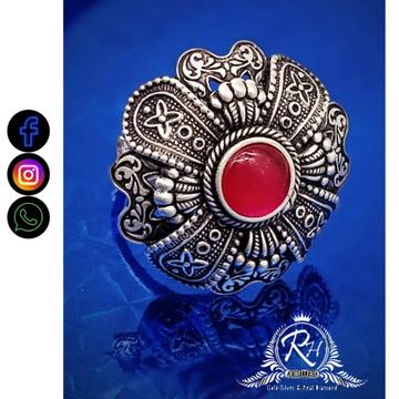 silver traditional ladies rings RH-LR575