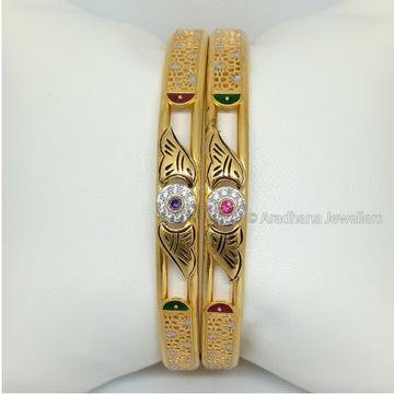 916 Gold Stylish Ladies Kadli