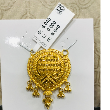 22 carat gold traditional ladies mangalsutra RH-MN786