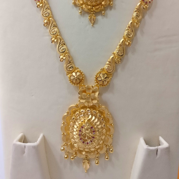 22kt Gold Coimbatore Haram set by