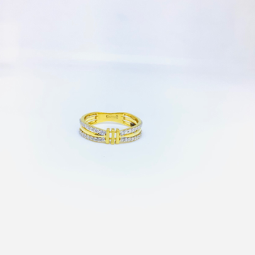 BRANDED FANCY GOLD RING FOR LADIES by