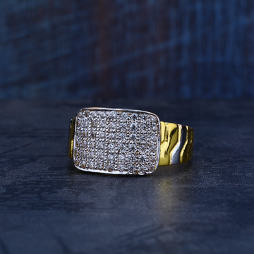 Mens Gold 916 Ring-MR94