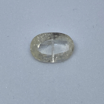 4.00ct oval yellow yellow-sapphire-pukhraj by