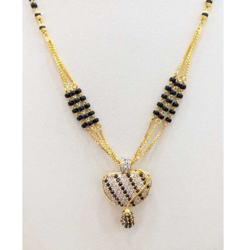 916 gold chain mangalsutra RJ-M029