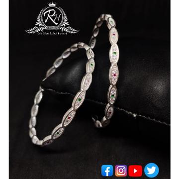 silver casual & party wear ladies bangles RH-LB400