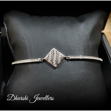 Silver Designer Bracelate by