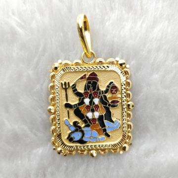 Mahakali maa 916 gold pendant