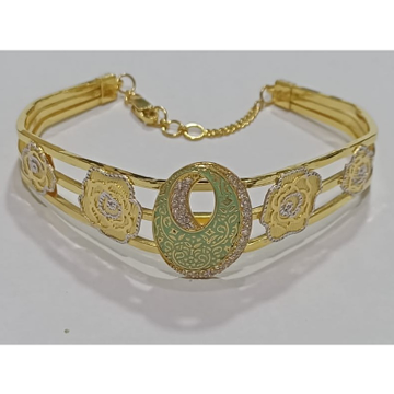 916 gold fancy colorful bracelet sg-b07