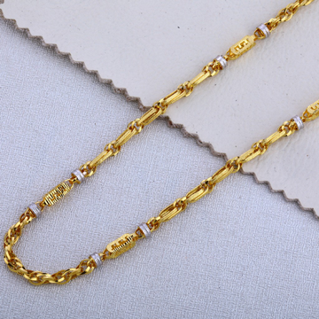 22KT Gold Classic Gent's Chain MCH511