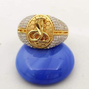 916 Gold Snake Gents Ring RH-gR022