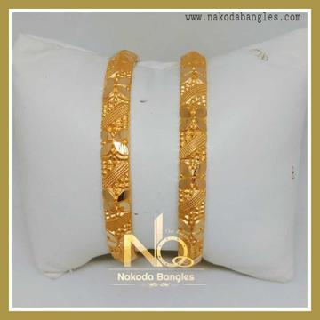 916 Gold Patra Bangles NB-234