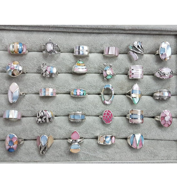 925 Starling Silver Colourfull Pal Rings RH-925CPR1