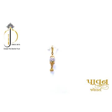 22KT / 916 Gold Fancy Dodi New Born Pendant for ki... by