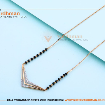 18kt mangalsutra by