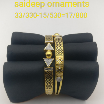 916 22 kt bangle Kadli design