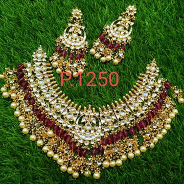 Bridal necklace set#bdns021