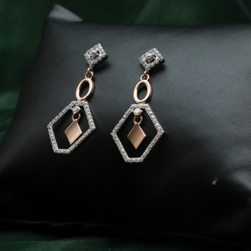 18KT Rose Gold Earring ER0021