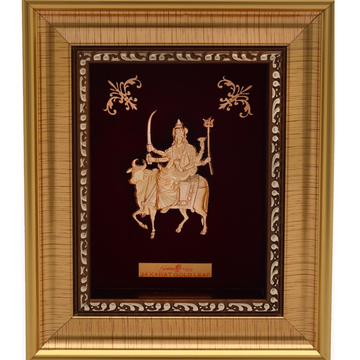 999 GOLD UMIYA MATAJI FRAME by
