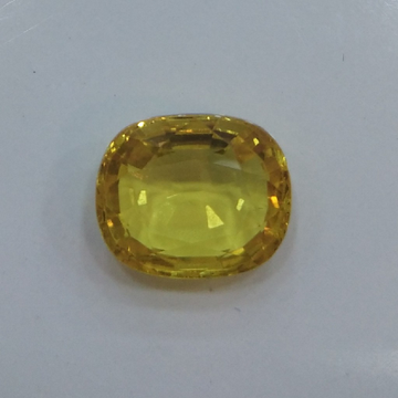4.51ct oval yellow yellow-sapphire-pukhraj