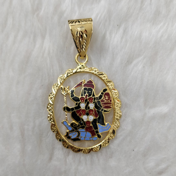 916 gold meladi maa pendant