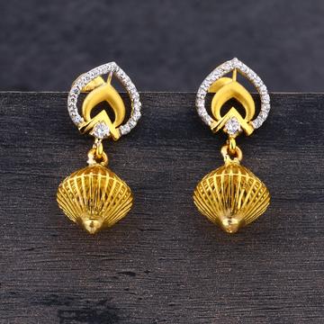 916 Gold Exclusive Earring Jhummar LJE205