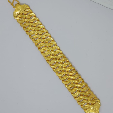 916 Gold Gent's Fancy Bracelet