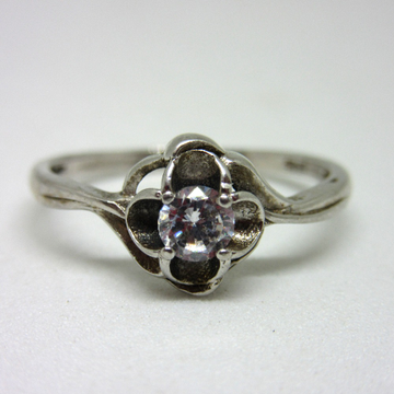 925 single stone haritage ring sr925-119 by