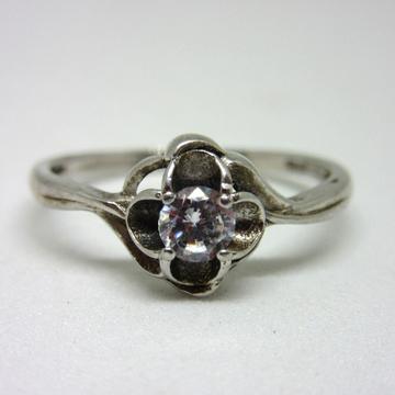 925 single stone haritage ring sr925-119
