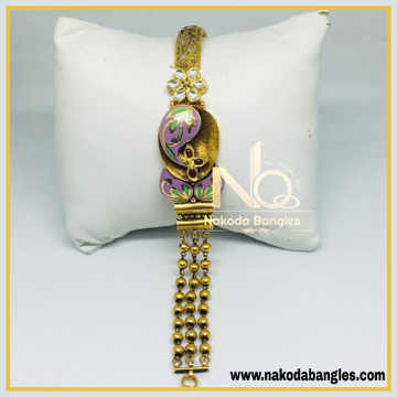 916 Gold Antique Bracelet NB - 472