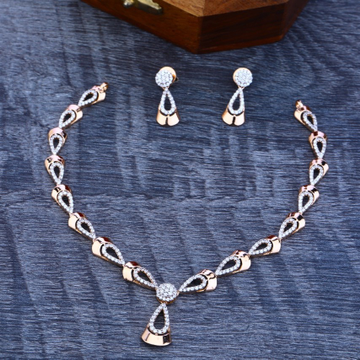 Necklace Set Rosegold by