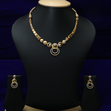 22kt Necklace Set CZS0026
