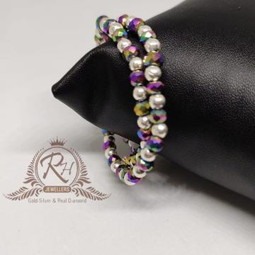 silver kids color full bangles kada RH-BK706