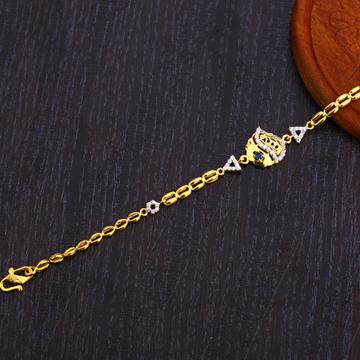 22CT Gold Ladies Bracelet LB307