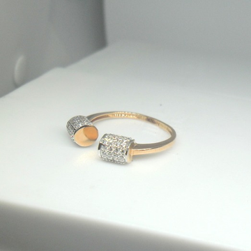 18KT  rose gold Fancy Special Anniversary Ring for Ladies LRG605