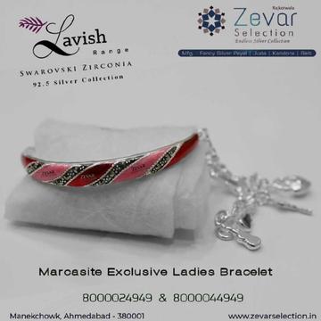 92.5 Silver Swarovski Hallmark Ladies Bracelets