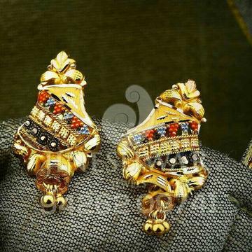 Fancy Gold Plain Kalkatti Butti
