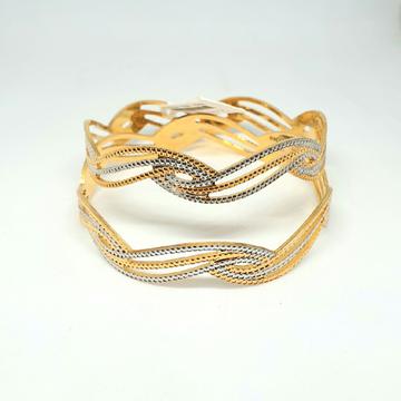 1 gm gold forming bangles mga - gf001