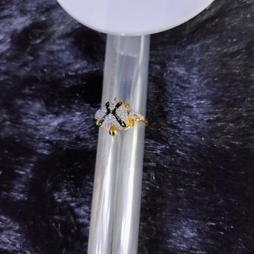 22KT/916 Yellow Gold Jezebell Ring For Women