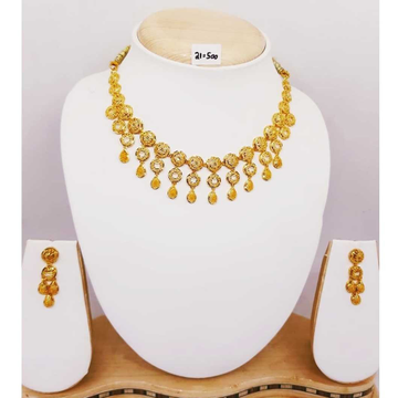 916 gold turkish necklace set bj-n01