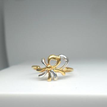 22KT / 916 gold hart shape handmade ring for ladies LRG0033