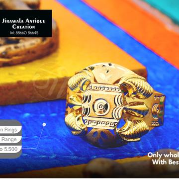 916 Nazaran Gold Ring JAR-004
