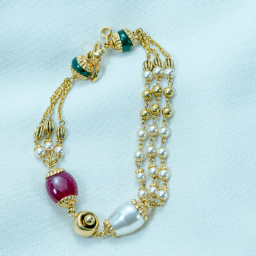 22KT Gold Women Bracelet LB-588 by