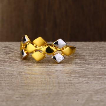Ladies 22K Gold Designer Design Ring -LPR124