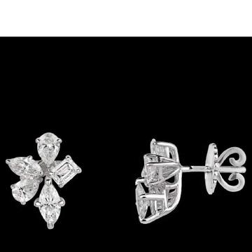 Diamonds Ear StudsJSJ0174