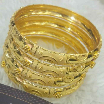 Gold Bangles by